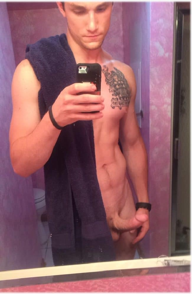 Horny Tattooed Guy